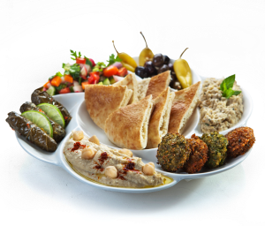 I forgot to take a picture of the food.  Here's a pic taken from Pita Pan's website