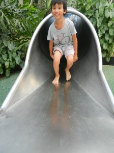 The tunnel slide
