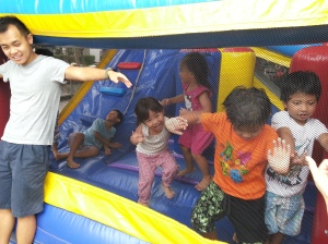 Bouncy castles - what a great invention