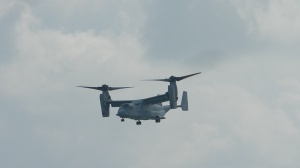 MV-22 Osprey in helicopter mode