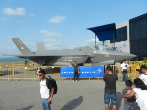 Model of the F-35 Lightening