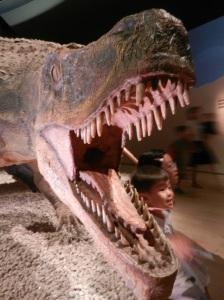 Saurosuchus eating some kids
