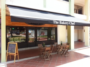 The cafe front
