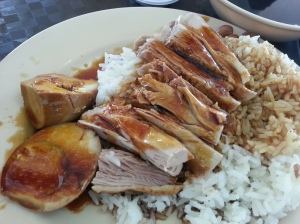 Braised Duck with Rice