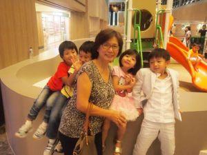 Mummy & the grandkids