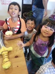 Ice cream truce