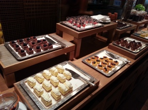 More treats at the buffet line