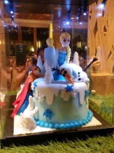 Frozen cake spotted!
