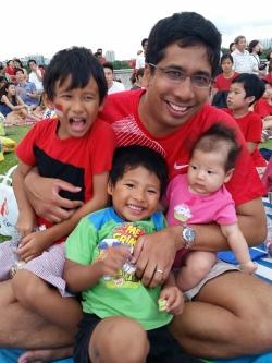 Daddy & kiddos
