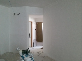 After plastering