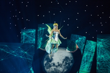 Tinkerbell, the narrator (Photo by Leslie Artamonow)