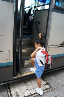 Off to school, no sweat