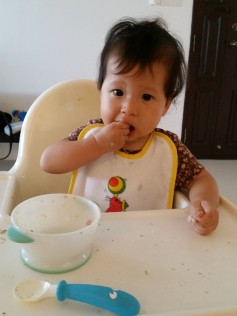 Self-feeding