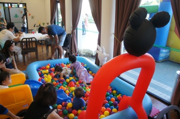 The big ball pit