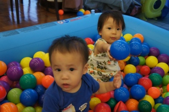 Alyssa with cousin David