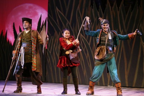 Dwayne Lau, Ann Lek and Mitchell Lagos in TLC's Treasure Island