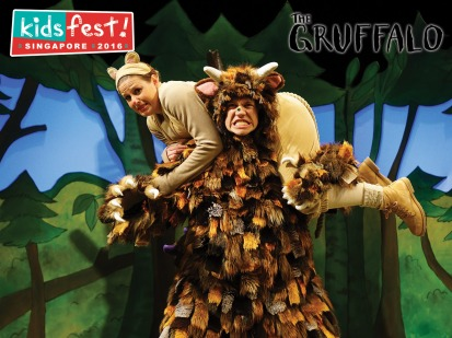 The Gruffalo has his snack...or does he?