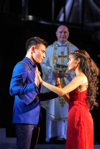 Thomas Pang, Cheryl Tan, Daniel Jenkins in SRT's Shakespeare in the Park - Romeo & Juliet